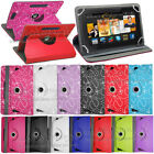 "Universal Folio Leather Flip Case Cover For Android Tablet PC 7"" 8"" 9"" 9.7"" 10"""
