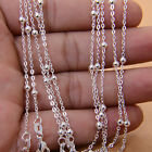wholesale 5pcs/lot 925sterling Silver 2mm Necklace Chain Ball Rolo Ring Link