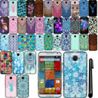 For Motorola Moto X 2014 2nd Generation TPU SILICONE SKIN Soft Case Cover + Pen