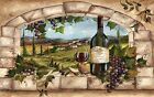 TUSCAN WINE AND GRAPE ARCHWAY  PLACEMATS PLACE MATS SETS U PICK SET SIZE
