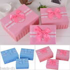 BD 1Set New Cuboid Gift Box Sweet Dots Lace Pattern Ribbon 3 Different sizes