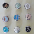 Premium Noosa Style Snap On Chunk Button Charms for Leather Bracelet Amsterdam