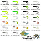 Gary Yamamoto Grub 4 Inch Curly Single Tail Soft Plastic Fishing Bait Any 40-20