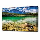 LARGE LAKE VIEW CANVAS PRINT 2111