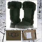 Ugg Australia SUNBURST WOMEN'S Tall  BLACK Boots Sizes: US:7,8 NEW