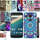 For LG Google Nexus 5X TPU SILICONE Rubber SKIN Soft Case Phone Cover + Pen