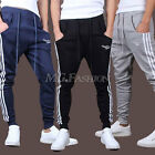 New Mens Casual Sport Skinny Harem Taper Sweat Pants Long Jogger Trousers Slacks