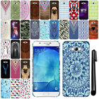 For Samsung Galaxy A8 A8000 PATTERN HARD Protector Back Case Phone Cover + Pen