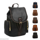 New Vintage Leather Travel Shoulder Women Satchel Backpack School Bag Handbag