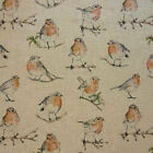 Clarke & Clarke Dawn Chorus Linen Curtain Fabric
