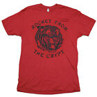 Rocket From The Crypt - Tiger Logo Cardinal Red T-Shirt - BRAND NEW