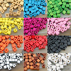 200pcs Cube Wood Spacer Loose Wooden Craft Diy Jewelry  Beads 5x5mm
