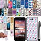 For ZTE Overture 2 2nd Gen 2015 Fanfare Z791 NEW TPU SILICONE Case Cover + Pen