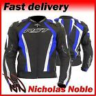 RST CPXC SPORT 1722 Black Blue WATERPROOF ARMOURED SPORTS CUT MOTORCYCLE JACKET