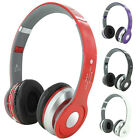 Handfree Wireless Bluetooth Headset Stereo Headphone Foldable For Samsung iPhone