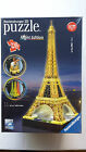 RAVENSBURGER 3 D PUZZLE  NIGHT EDITION THE EIFFEL TOWER  £22.99 ( NEW )