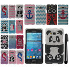 For Samsung Galaxy Grand Prime G530 DIAMOND BLING CRYSTAL HARD Case Cover + Pen