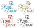 Little Princess + 10 Stars iron on Rhinestone Transfer crystal hotfix t-shirt