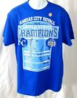 Kansas City Royals Baseball T-shirt Short Sleeve Blue