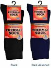 3 Mens THERMAL Cotton Rich EXTRA WARM QUALITY Socks UK 6-11
