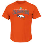 Majestic NFL Denver Broncos Super Bowl 50 Champions Choice VIII Short Sleeve Tee