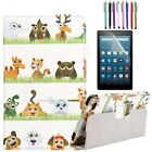 For Various Amazon Kindle Fire 7 8 10 inch Tablet Folio Leather Stand Case Cover