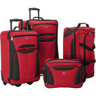 American Tourister Fieldbrook II 4-Piece Nested Luggage 3 Colors Luggage Set NEW