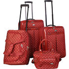 American Flyer AF Signature 4-Piece Luggage Set 7 Colors