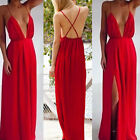 New Sexy Women Boho Loose Backless Holiday Ladies Beach Evening Long Maxi Dress