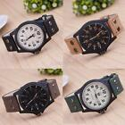 Cool Chic Curren Men Military Leather Strap Wrist Sport Analog Quartz Watch UP