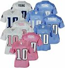 NFL Football Women's Assorted Tennessee Titans Vince Young #10 Dazzle Jersey