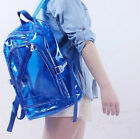 Fashion Clear Transparent Shoulder Bag Jelly Candy Color Backpack Handbag Purse