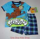 SCOOBY DOO Toddler Boys 2T 3T Set OUTFIT Shirt Shorts Dog