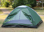 Camping Tent 3-4 Person Man Family Travel Pop Up Fast Pitch Tent Hiking Outdoor New