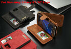 Removable Wallet Leather Flip Card Case Cover For Samsung Galaxy S6 /S7 Edge