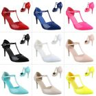 NEU  DAMENSCHUHE PUMPS c5sw HIGH HEELS T-SPANGE 0€