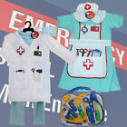BOYS GIRLS UNISEX DRESS UP ROLE PLAY DOCTORS NURSES OUTFITS AGES 3-5 5-7 MEDICAL