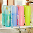 Travel Toothbrush Case Cover Toothpaste Holder Storage Orangizer Box Cup