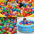 New Lots Colorful Fun Ball Soft Plastic Ocean Ball Baby Kid Toy Swim Pit Toys
