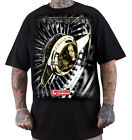 "DYSE ONE Clothing Kalifornien "" DAYTONA "" T-Shirt Tee black / schwarz"