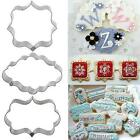 1pcs Cake Fondant Fancy Sugar craft Decorating Cookies Cutter Baking Tool DJNG