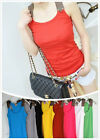 New Sleeveless Tops for Women Shirts Tank Top Ladies Casual Beach Tops One Size