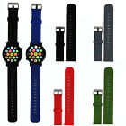 20mm Replacement Silicone Watch Band Strap for MOTO 360 2nd 42MM Smart Watch