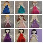 Beautiful Medium Bridesmaid Toppers / Scrapbook figures 3 styles , many colours