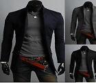 Modernlook Mens Design & Quality SlimFit China Collar Long Blazer Jacket /Coat