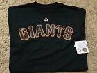NWT Mens MLB San Francisco Giants Official Wordmark Majestic T-Shirt Many Sizes