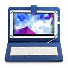 "iRULU 10.1"" 8GB Google Android 5.1 Quad Core 10 Inch Tablet PC + Keyboard New"