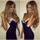 Sexy Women Braces Bandage Bodycon Lace Evening Party Cocktail Short Mini Dress
