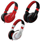 OVLENG Wired 3.5mm Jack Stereo Headset Headphones DJ with Mic Over-Ear Games X13