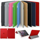 Ultra Thin Leather Magnetic Smart Case Cover For Apple iPad 1 2 3 4 Mini Pro 9.7 <br/> Auto Sleep/Wake * 1ST CLASS POSTAGE * FREE STYLUS PEN *